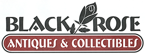 Black Rose Antiques Logo